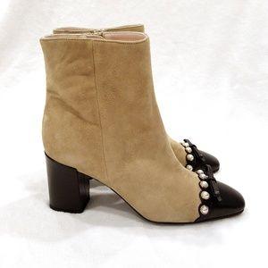 dea6c51a3896 kate spade Shoes - NEW Kate Spade Suede Orton Ankle Boots Sz 7